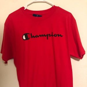 *NEW* Red Champion Short Sleeve